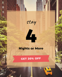Stay 4, Get 20% Off